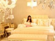 Nhà đẹp - Phòng ngủ hoàng gia cổ điển đắt giá của sao nữ