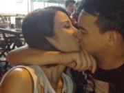Làng sao - Diệp Lâm Anh công khai hôn bạn trai thiếu gia