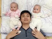 Làm mẹ - Ông bố Việt mách chiêu ru con ngủ siêu tốc bằng khăn xô
