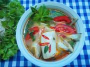 Bếp Eva - Canh cá khoai nấu chua ngon miệng cho cả nhà