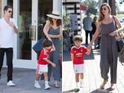 """Làng sao - Con trai Miranda Kerr """"mặt lạnh"""" với bạn trai của mẹ"""