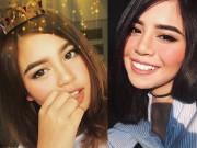 Làm đẹp - Ngắm mãi không chán vẻ đẹp lai của hot girl Thái gốc Việt