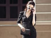 Thời trang - Quỳnh Châu diện hàng hiệu cá tính xuống phố