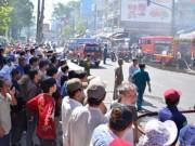 Tin tức - Cháy cửa hàng hoa giả, hàng trăm người hốt hoảng