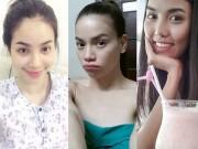 Làm đẹp - Soi mặt mộc của ba giám khảo The Face