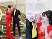 Làng sao - Hoa hậu Thu Thủy tái xuất gợi cảm bên Đức Hùng