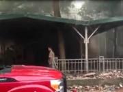 Tin tức - Đại học Sư phạm Hà Nội cháy lớn, thí sinh hoảng loạn