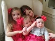 """Làm mẹ - Màn đối đáp siêu dễ thương của bố với 4 con gái """"nghịch như quỷ"""""""