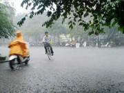 Tin tức - Bắc Bộ mưa lớn kéo dài 2 - 3 ngày tới