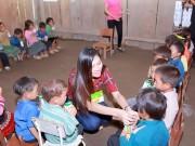 Thời trang - Hoa khôi Diệu Ngọc chuẩn bị xây trường cho trẻ em vùng cao
