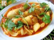 Bếp Eva - Gà hầm sốt cà chua ngon cơm ngày mát trời