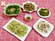 Bếp Eva - Thực đơn cơm chiều 5 món quen thuộc mà ngon