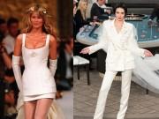 Những mẫu váy cưới tạo dấu ấn của Chanel trong 29 năm qua