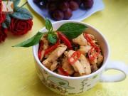 Bếp Eva - Gà xào húng quế đơn giản mà ngon