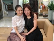 Làng sao - Lộ diện chị gái xinh đẹp của Thu Minh