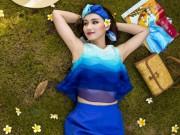 Thời trang - Lã Thanh Huyền đẹp xuất sắc với gam màu xanh thanh mát