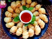 Bếp Eva - Khoai tây cuộn tôm món ngon đãi khách