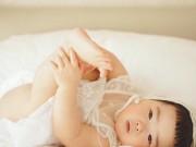 Làm mẹ - Những hình ảnh cực đáng yêu của bé gái 'thánh ăn'