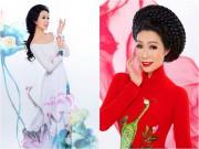 """Làng sao - Trịnh Kim Chi đẹp sang trọng, mặn mà """"gái 2 con"""""""