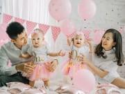 Làm mẹ - Gia đình bố tài, mẹ xinh, con sinh đôi thiên thần khiến dân tình 'phát hờn'