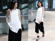 Thời trang - Thời trang công sở ngắm mãi không chán của bạn gái Hà Thành