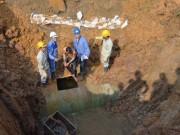 Tin tức - Đường ống nước sông Đà gặp sự cố lần thứ 18