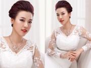 Tin tức thời trang - Trang sức cưới cho cô dâu thêm rạng ngời