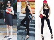 Thời trang - Muốn mặc màu đen đẹp, hãy ngắm Hà Tăng, Hà Hồ, Thanh Hằng ngay lập tức