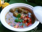 Bếp Eva - Canh ngao nấu sấu chua chua tuyệt ngon
