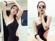 Làng sao - Diệp Bảo Ngọc tự tin khoe vòng eo 58cm với bikini