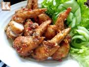 Bếp Eva - Cánh gà nhồi thịt sốt nước mắm đầy hấp dẫn