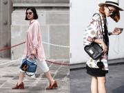 Thời trang - Phái đẹp Sài Gòn đẹp nao lòng với thời trang mùa mưa