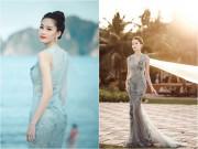 Làng sao - Hoa hậu Đặng Thu Thảo đẹp tựa nữ thần trước biển