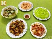 Bếp Eva - Bữa cơm bao gồm 5 món siêu ngon