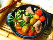Bếp Eva - Canh sườn nấu sấu chua chua dễ ăn