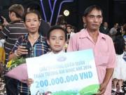 Làng sao - Vietnam Idol Kids 2016: Hồ Văn Cường đoạt Quán quân nhờ… nước mắt khán giả?