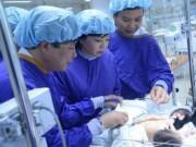 Tin tức - Hai trẻ sơ sinh dính liền ở Hà Giang đã tử vong trên đường về