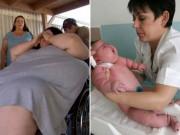 Bà bầu - Sự thật về bà mẹ 300kg 'vất vả' sinh con nặng nhất thế giới
