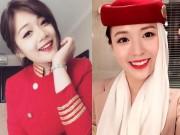 Làm đẹp - Khó cưỡng lại sự xinh đẹp của những nữ tiếp viên hàng không này