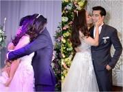 Làng sao - Ngọc Lan tới tấp hôn Thanh Bình trong lễ cầu hôn đặc biệt