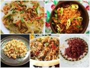 Bếp Eva - 5 món tép rẻ tiền mà trôi cơm vô cùng