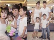 Làng sao - Minh Hà xinh đẹp đi sự kiện cùng ông xã Lý Hải sau 2 tuần sinh con thứ 4