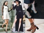 Thời trang - Đôi giày này của Hương - Hà - Khuê đang hot trên mọi mặt trận!