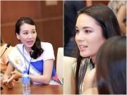 """Làng sao - Scandal của các hoa hậu thành đề tài """"nóng"""" với thí sinh HH Bản sắc Việt"""