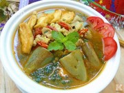 Bếp Eva - Cà tím bung thịt đậu đơn giản mà trôi cơm