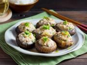 Bếp Eva - Mê mẩn với nấm nhồi thịt hấp