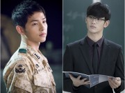 """Ngôi sao 24/7: Song Joong Ki  """" đánh bại """"  Kim Soo Hyun là sao hot nhất xứ Đài"""