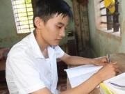 Tin tức - Chàng trai chăn dê đạt điểm thi khối B cao nhất huyện