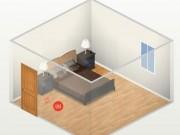 Nhà đẹp - Phong thủy: Giường ngủ đối cửa gây đau đầu, hại dạ dày,...