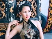 Hoa hậu Sương Đặng kiêu sa trong trang phục hoạ tiết Rồng
